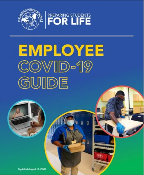 cover of employee COVID-19 guide